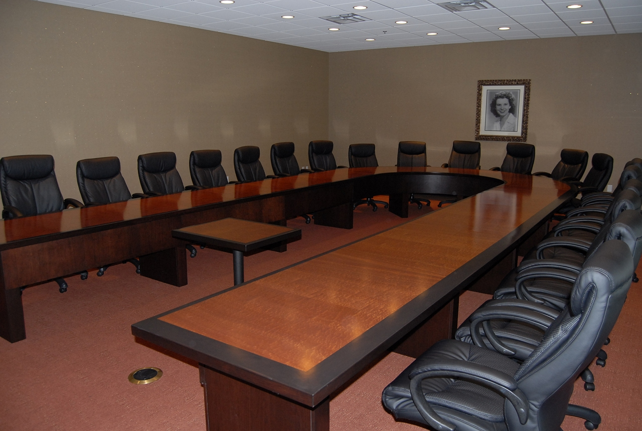 R Amp M Millwork Ruths Chris Boardroom Table Slideshow Of
